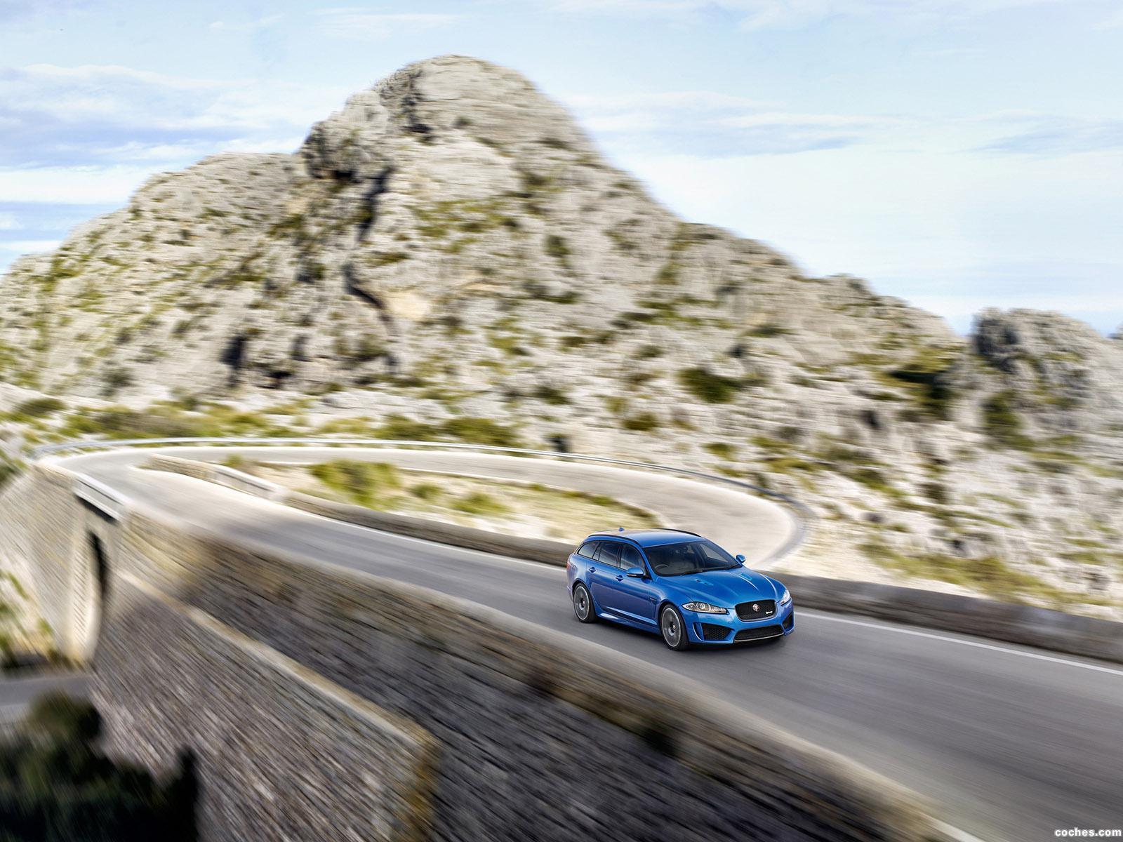 Foto 13 de Jaguar XFR-S Sportbrake UK 2014