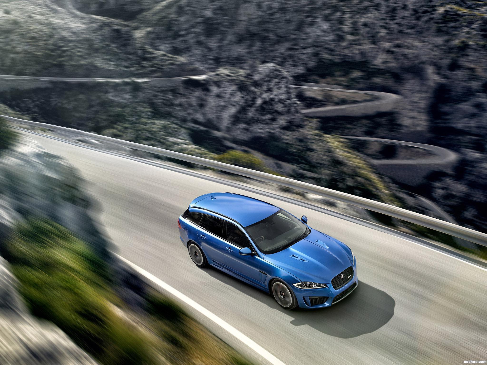 Foto 11 de Jaguar XFR-S Sportbrake UK 2014