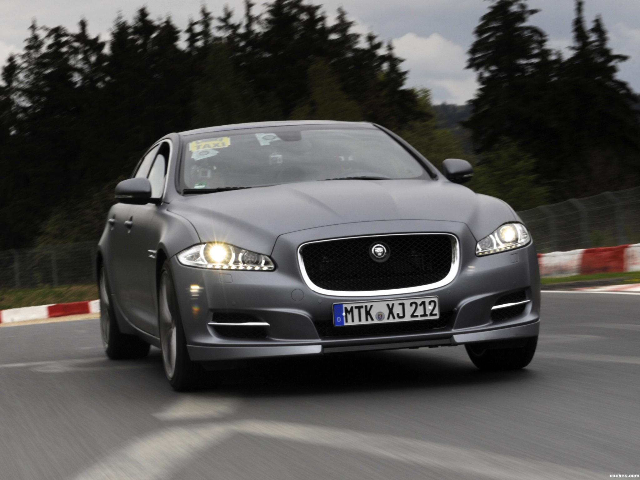 Foto 0 de Jaguar XJ Supersport Nurburgring Taxi 2012