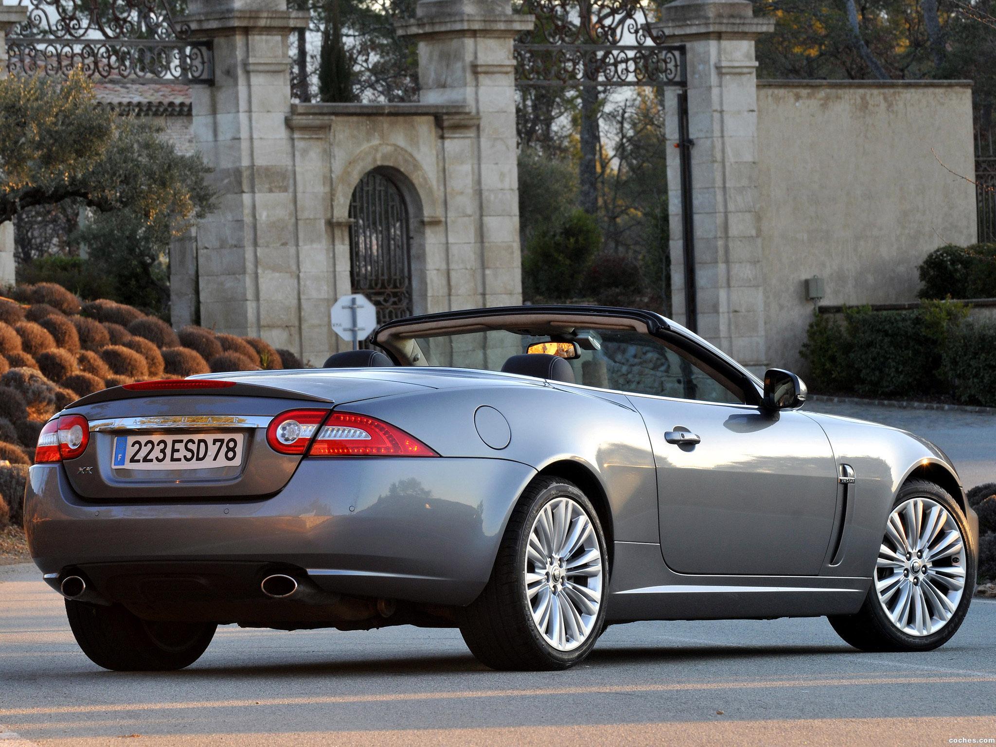 Foto 3 de Jaguar XK Convertible 2009