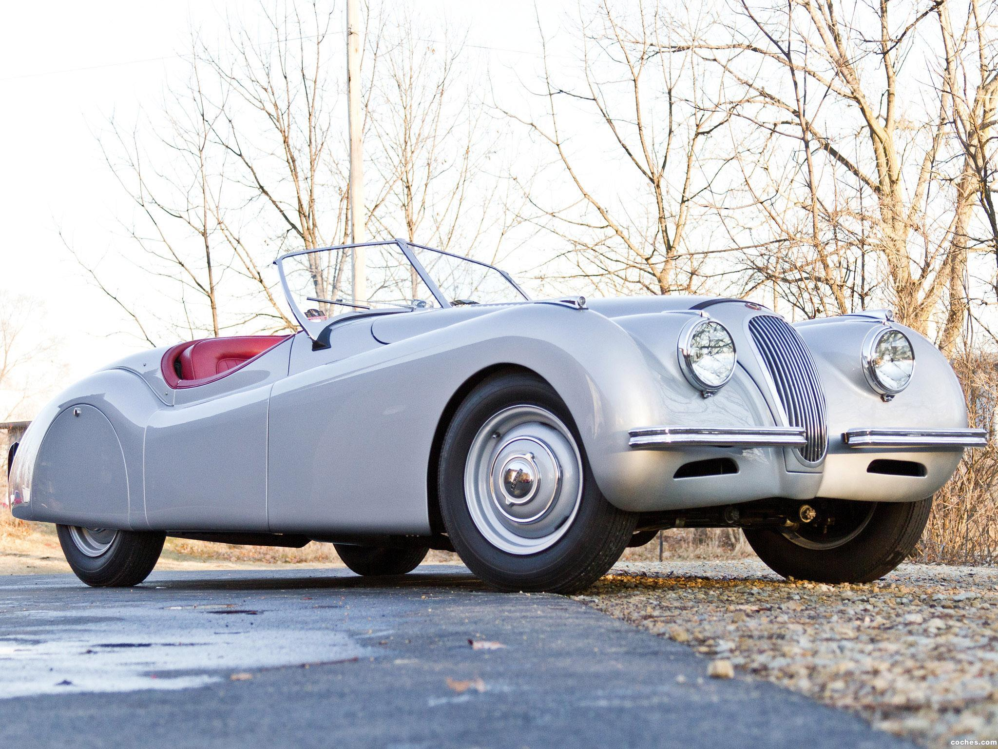Foto 0 de Jaguar XK120 Alloy Roadster 1949