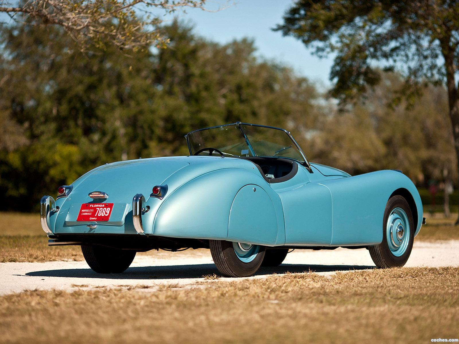 Foto 11 de Jaguar XK120 Alloy Roadster 1949