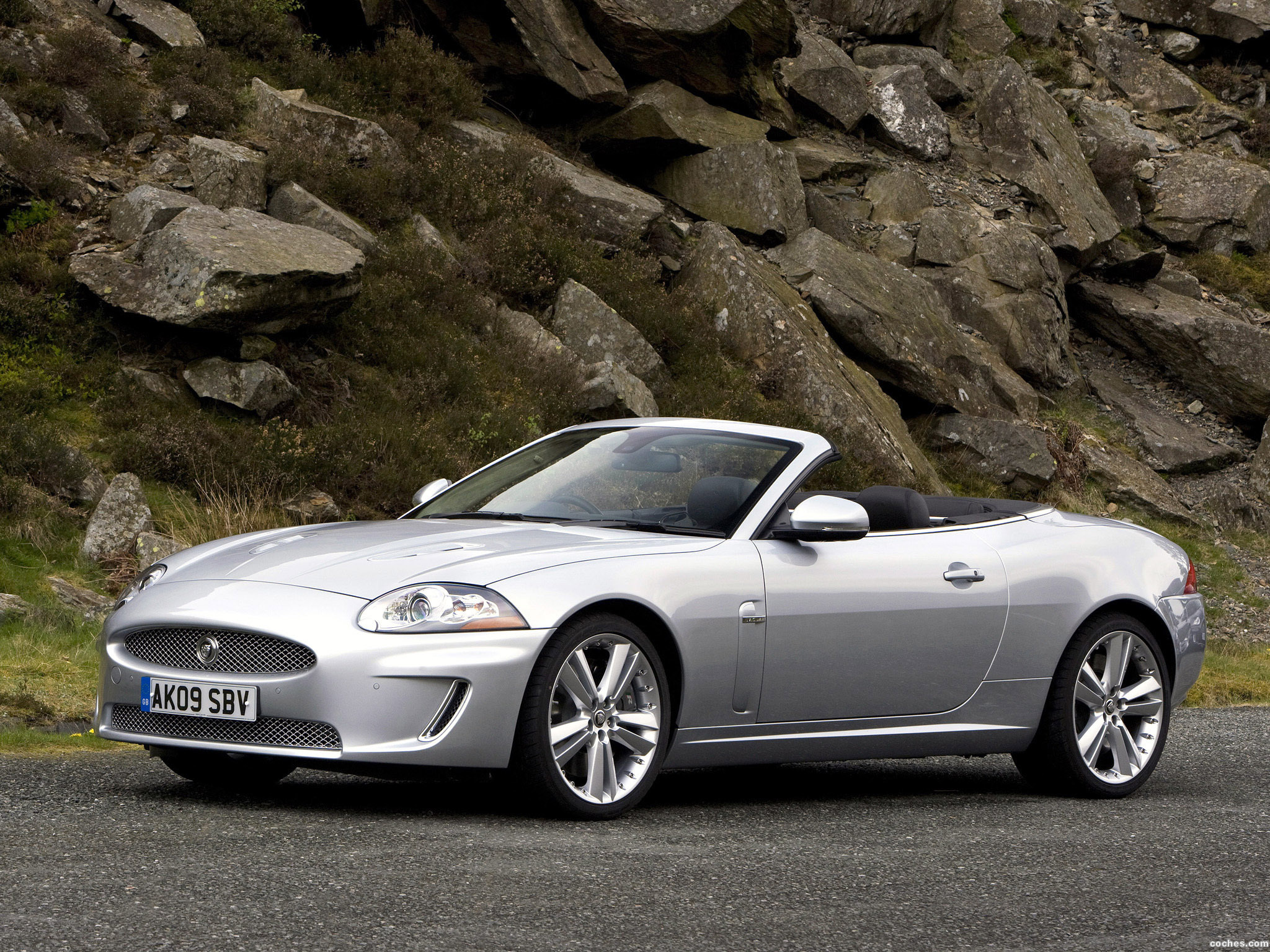 Foto 0 de Jaguar XKR Convertible UK 2009