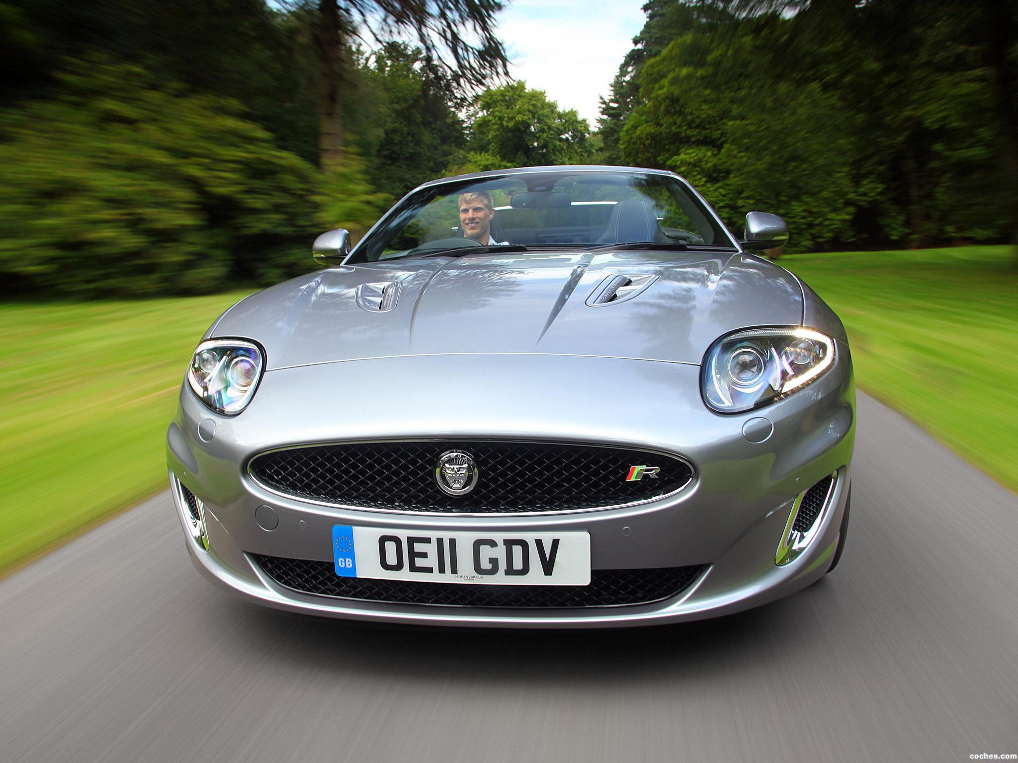 Foto 0 de Jaguar XKR Convertible UK 2011