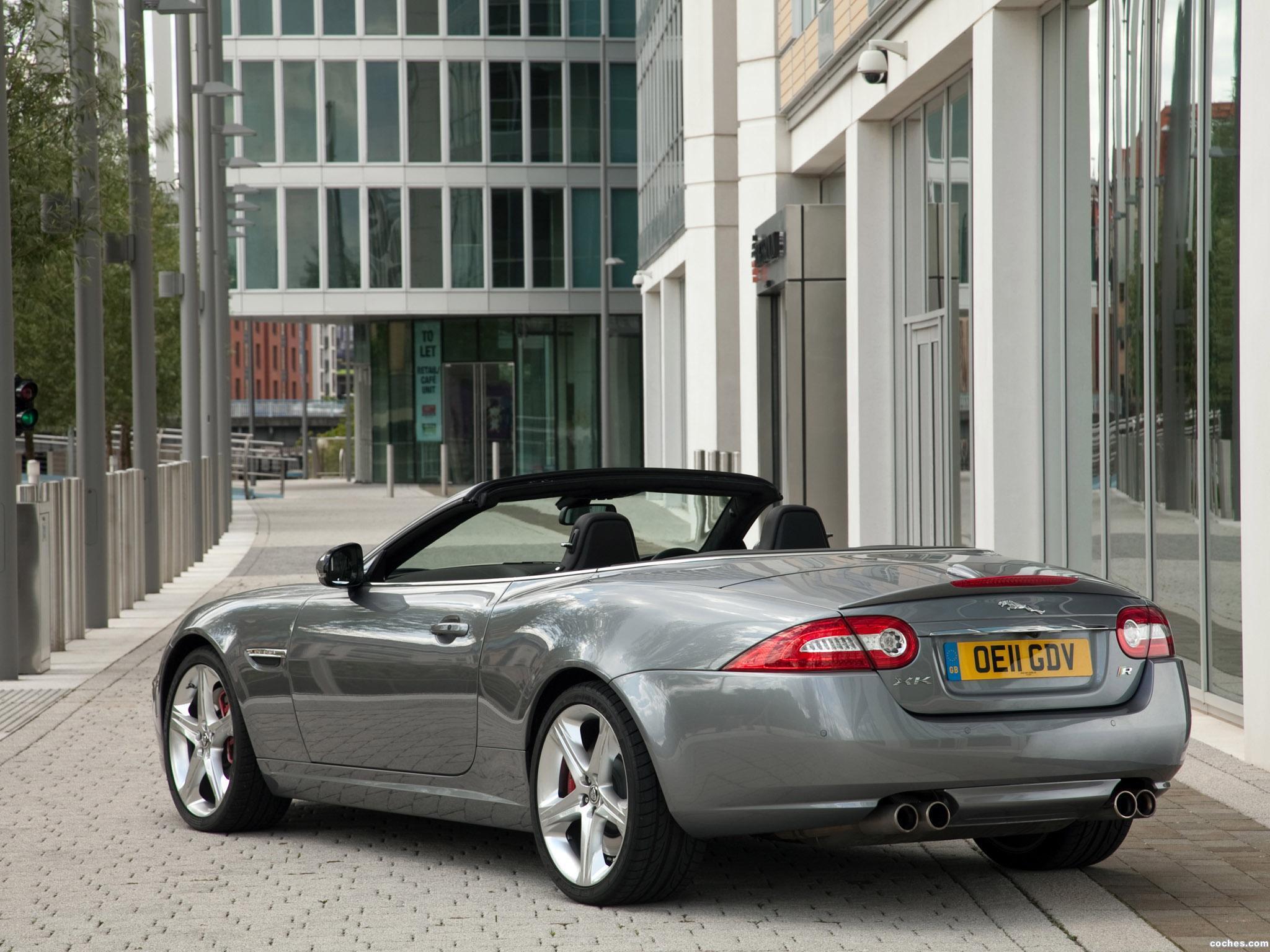 Foto 9 de Jaguar XKR Convertible UK 2011