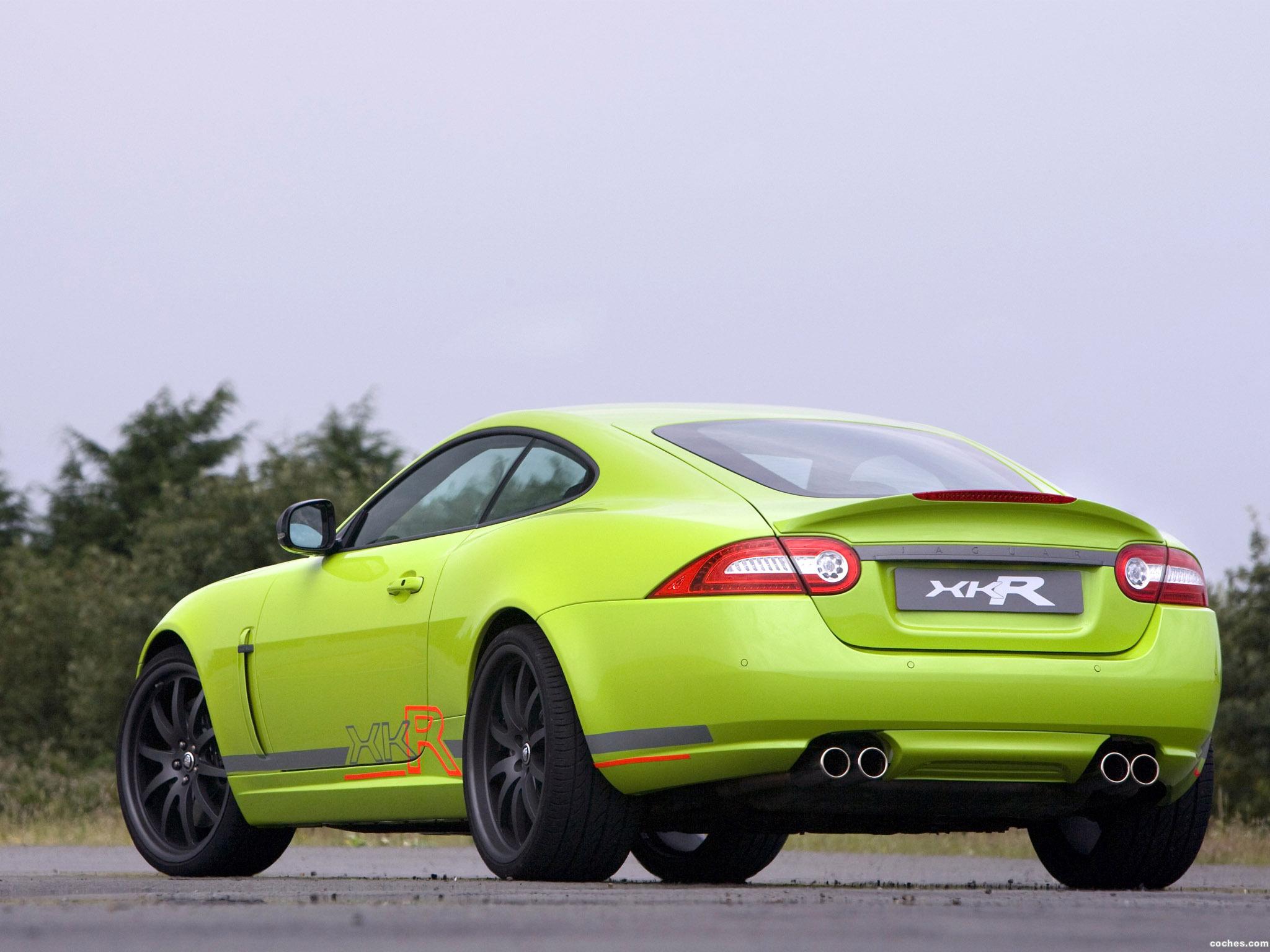 Foto 3 de Jaguar XKR Coupe Goodwood Special 2009
