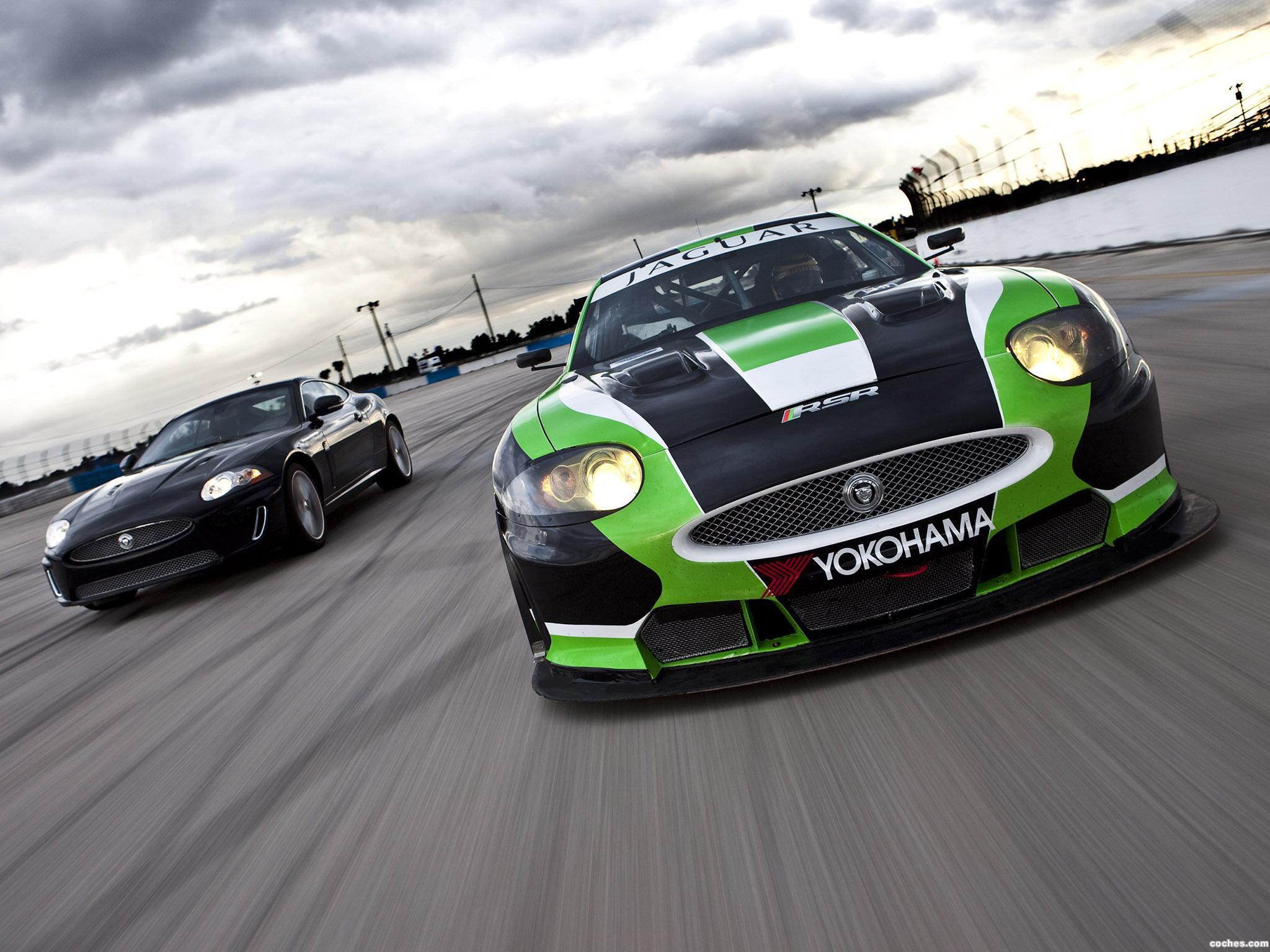 Foto 0 de Jaguar XKR GT2 RSR Le Mans 2010