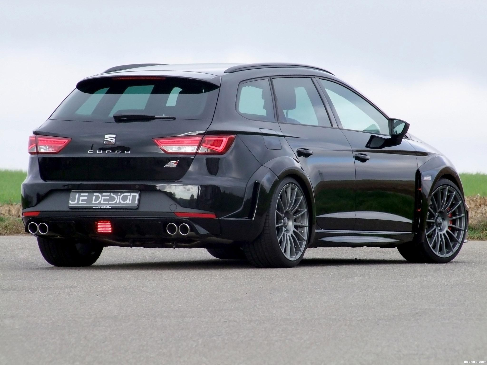 Foto 2 de JE Design Seat Leon ST Widebody 2015