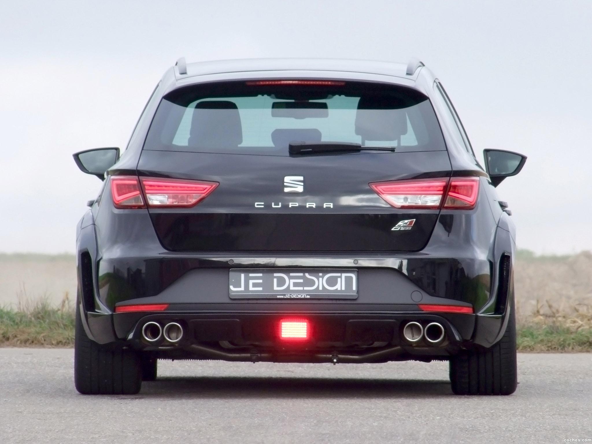 Foto 1 de JE Design Seat Leon ST Widebody 2015
