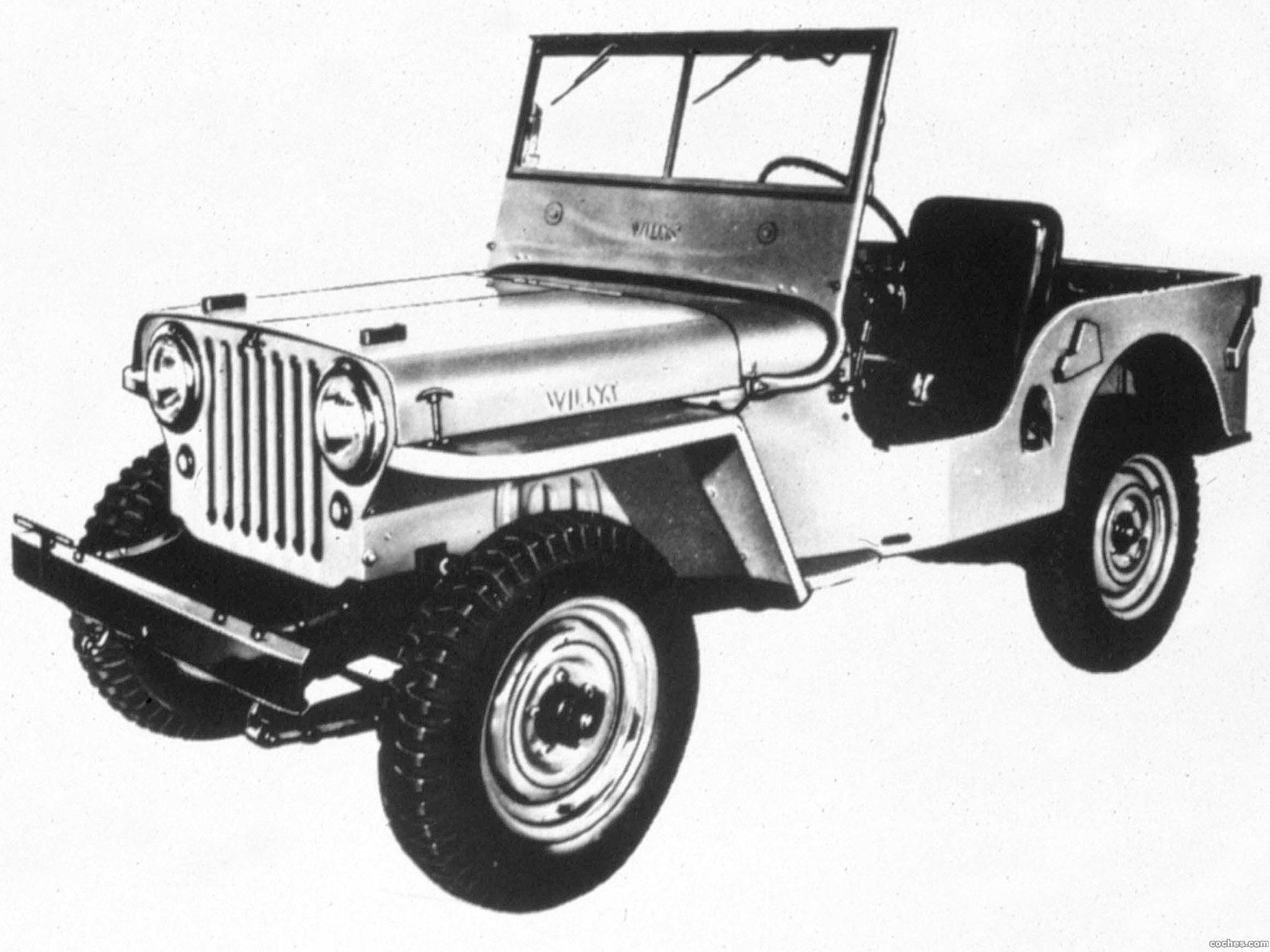 Foto 0 de Jeep CJ 2A 1945