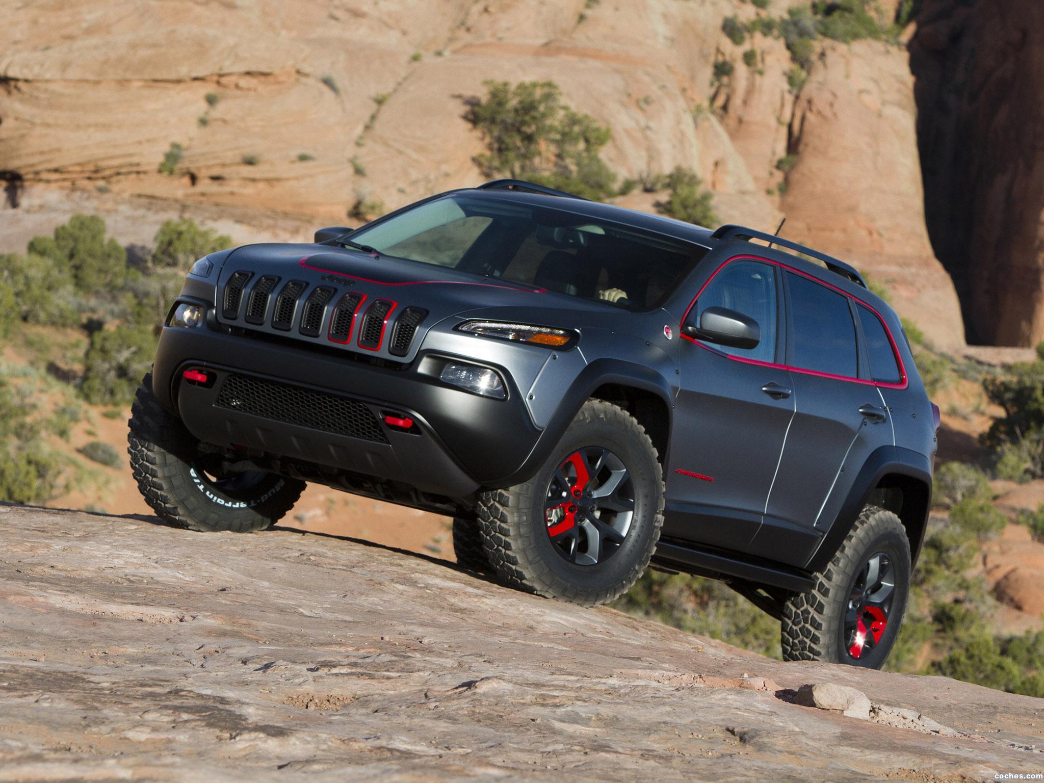 Foto 2 de Jeep Cherokee Adventurer Concept 2014