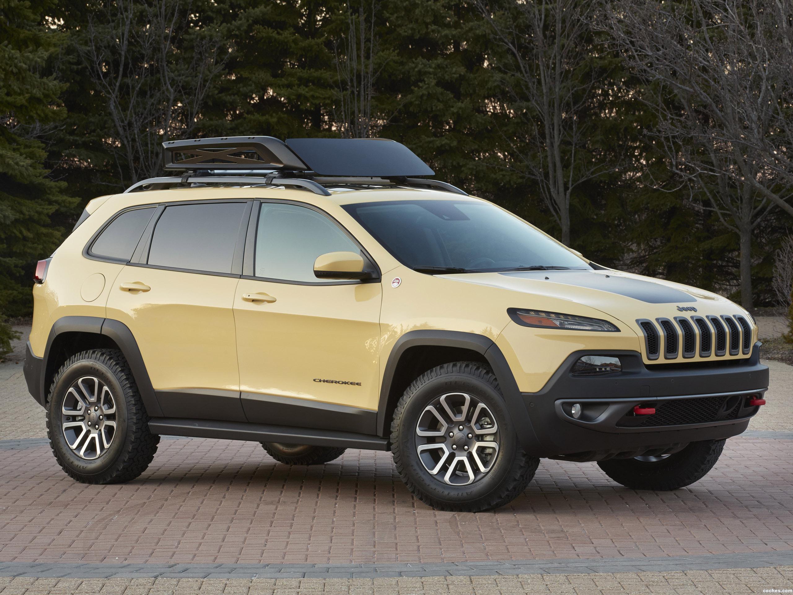 Foto 0 de Jeep Cherokee Dakar Concept 2014