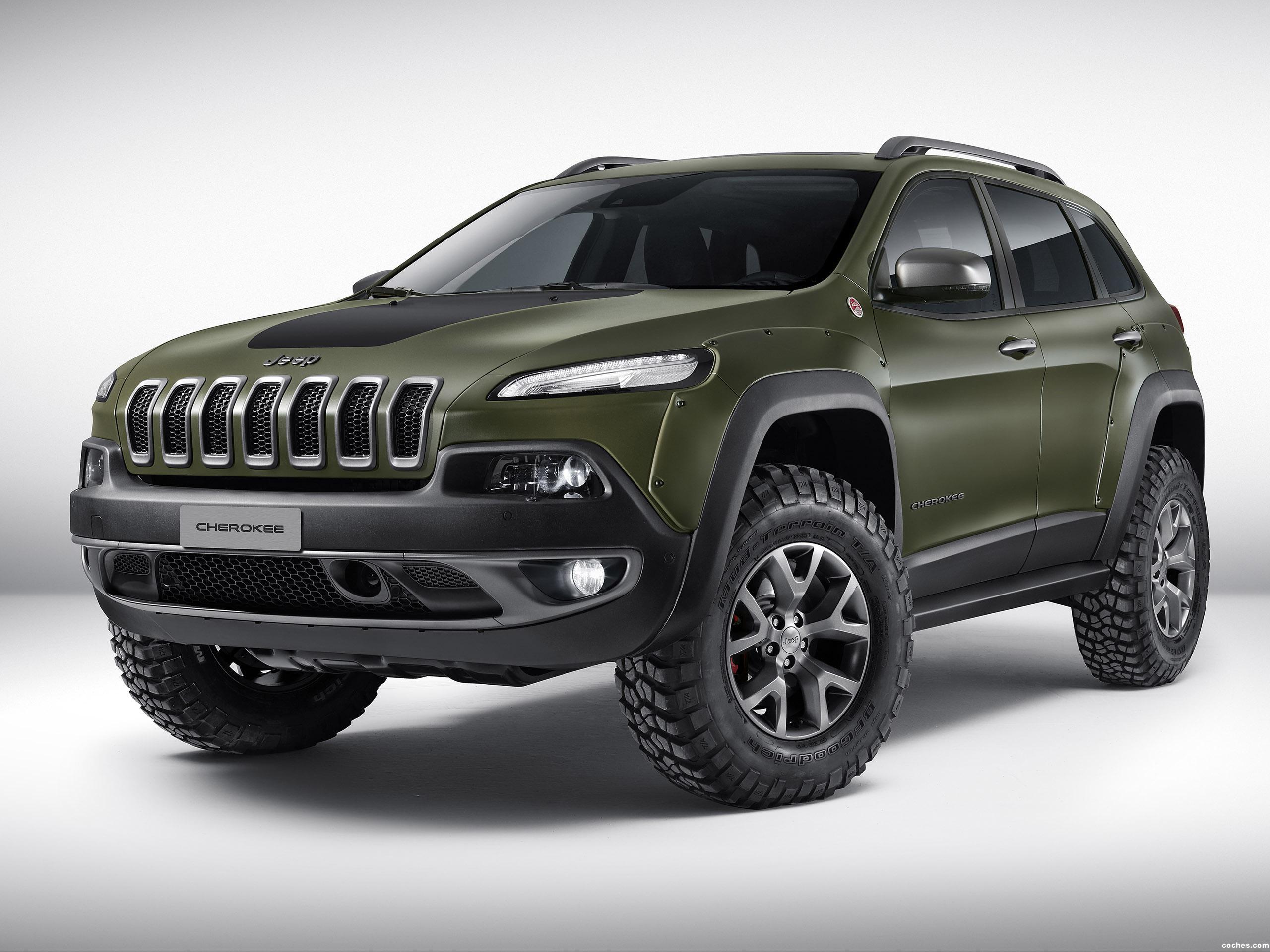 Foto 0 de Jeep Cherokee Krawler Concept 2015