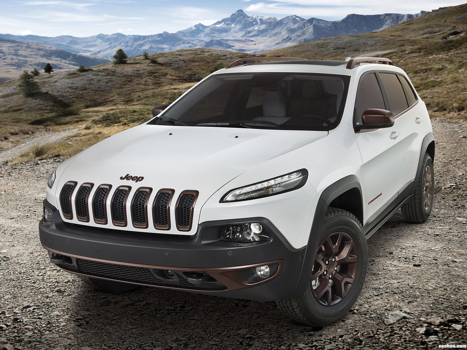 Foto 0 de Jeep Cherokee Sageland Concept 2014
