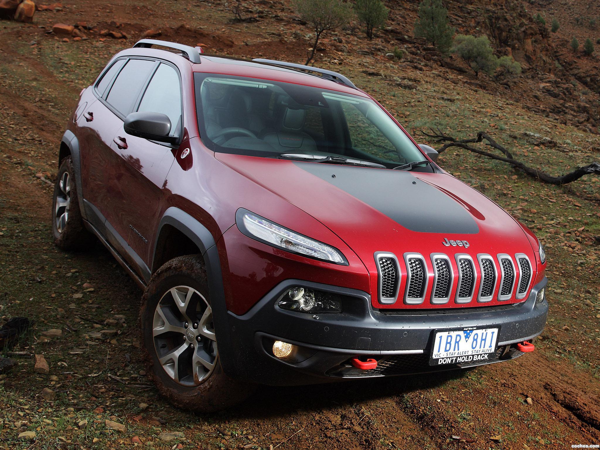 Foto 5 de Jeep Cherokee Trailhawk Australia 2014