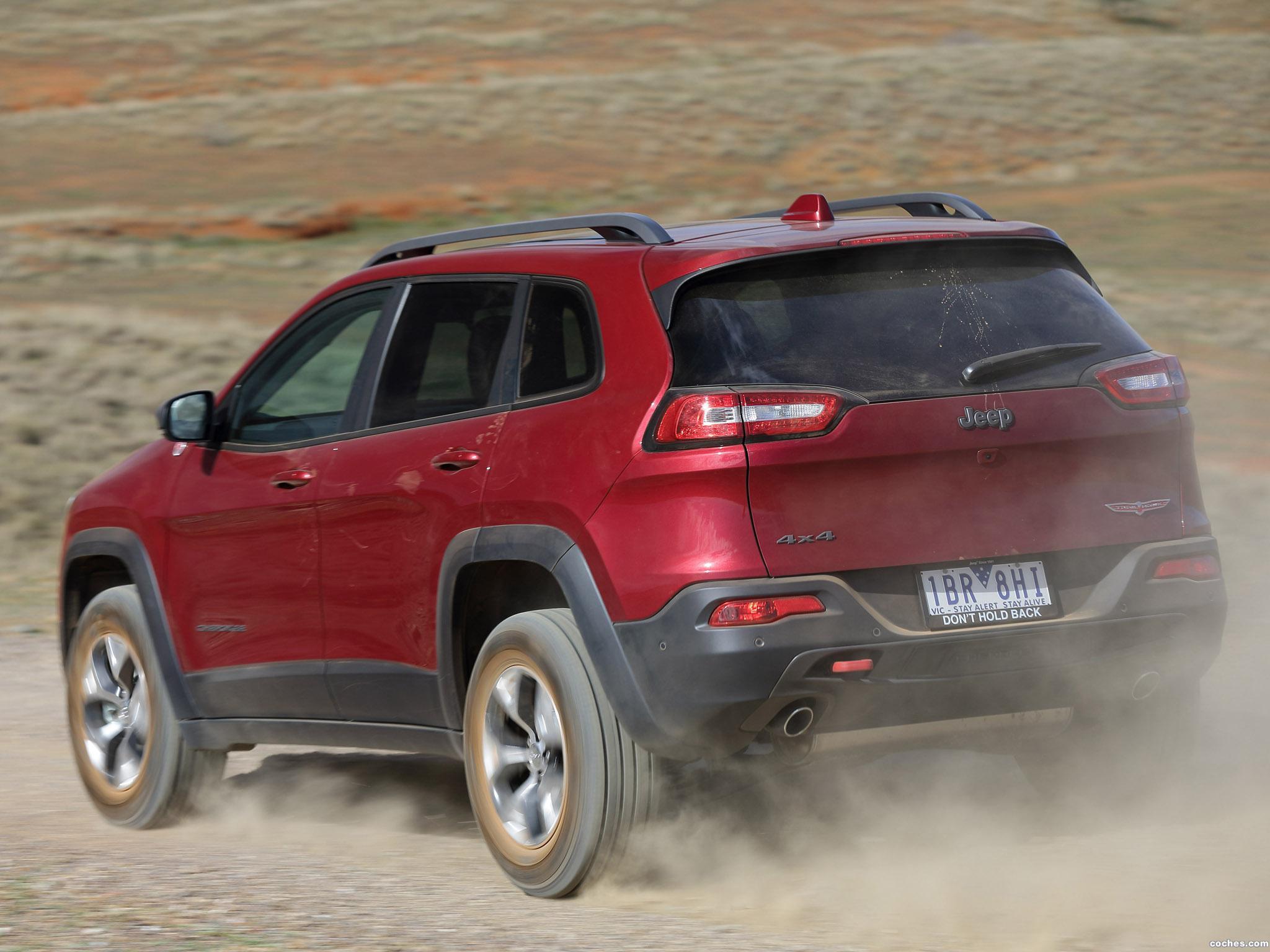 Foto 1 de Jeep Cherokee Trailhawk Australia 2014