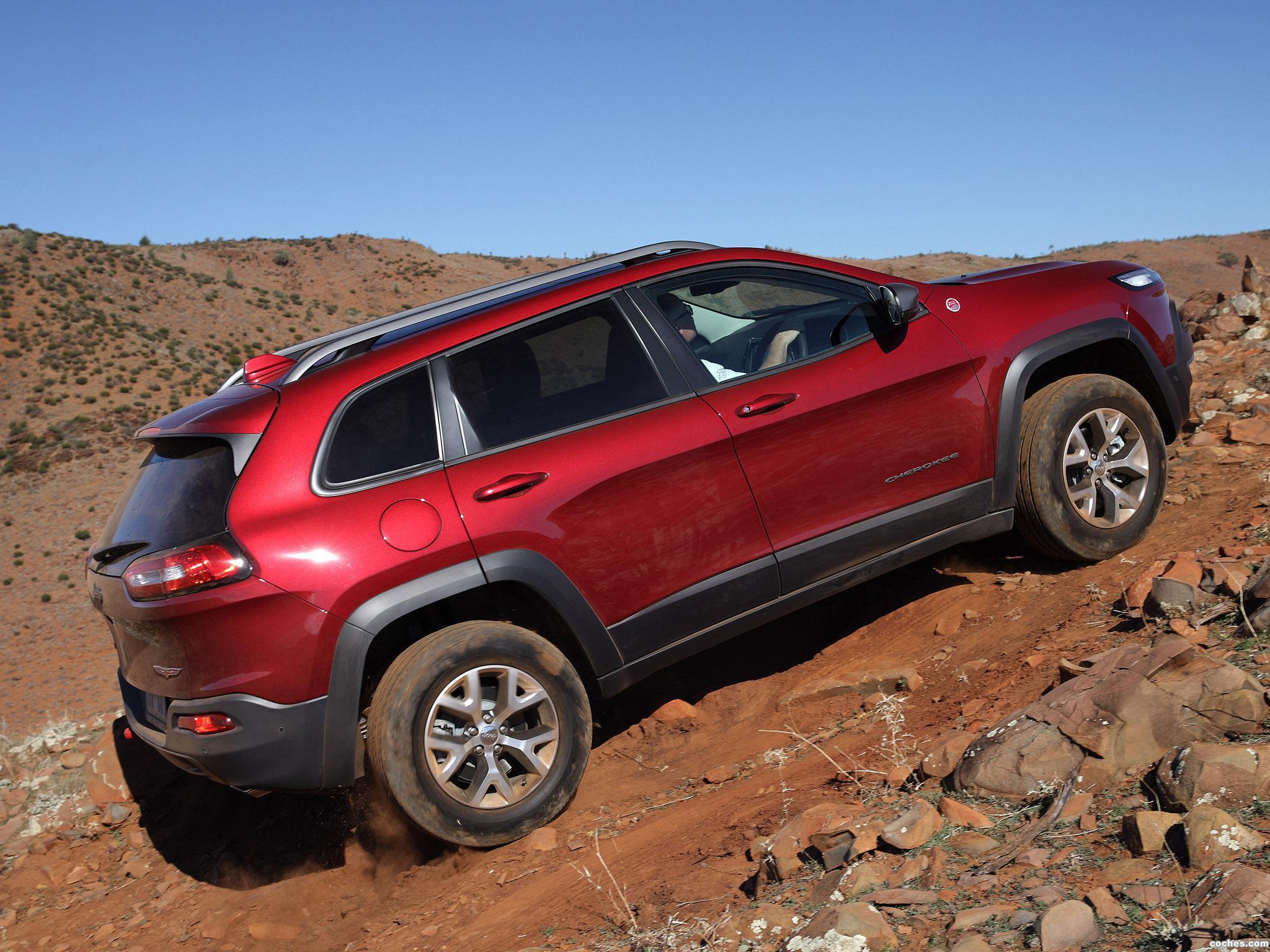 Foto 10 de Jeep Cherokee Trailhawk Australia 2014