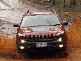 Ver foto 1 de Jeep Cherokee Trailhawk Australia 2014