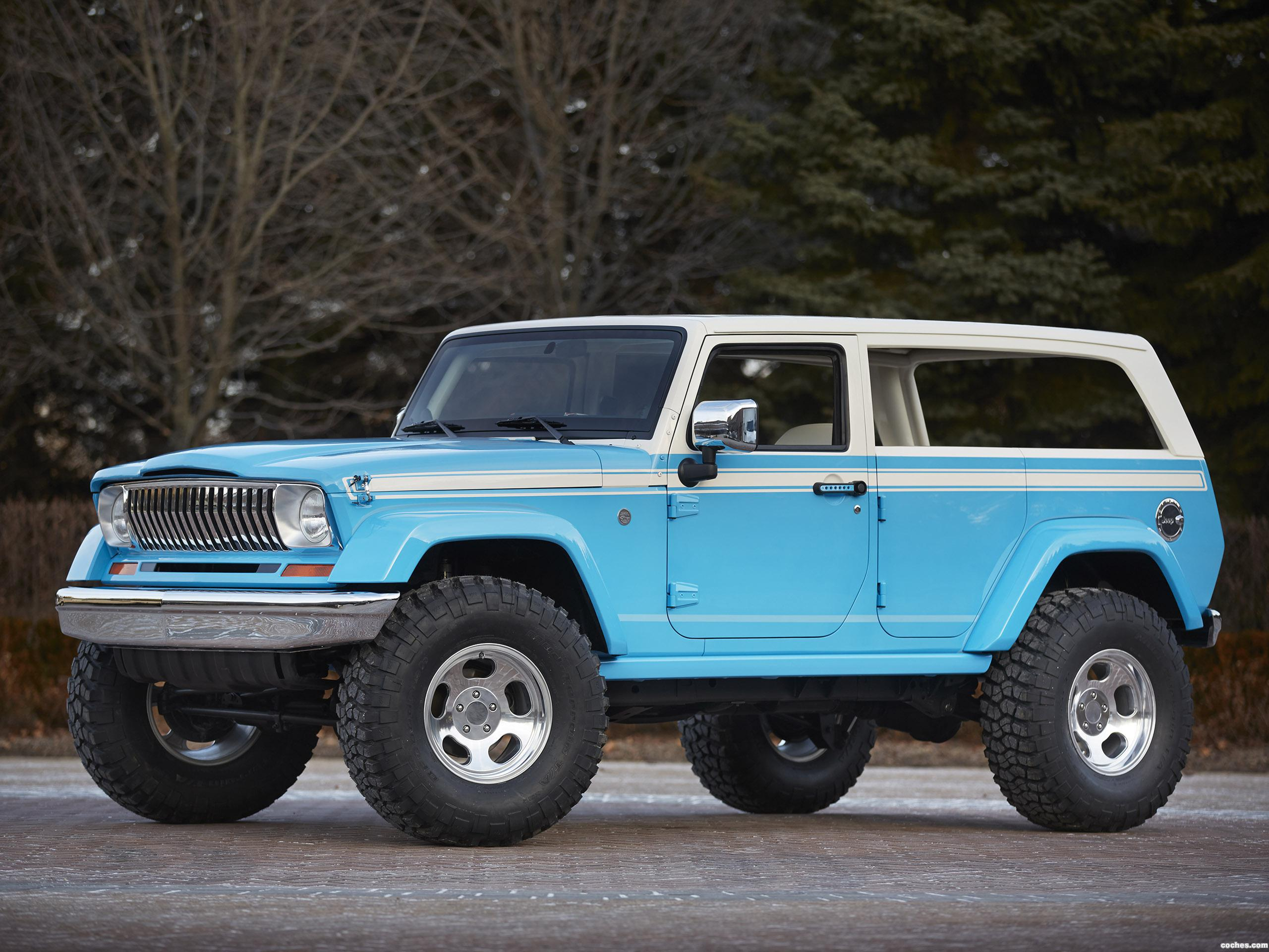 Foto 0 de Jeep Chief Concept JK 2015
