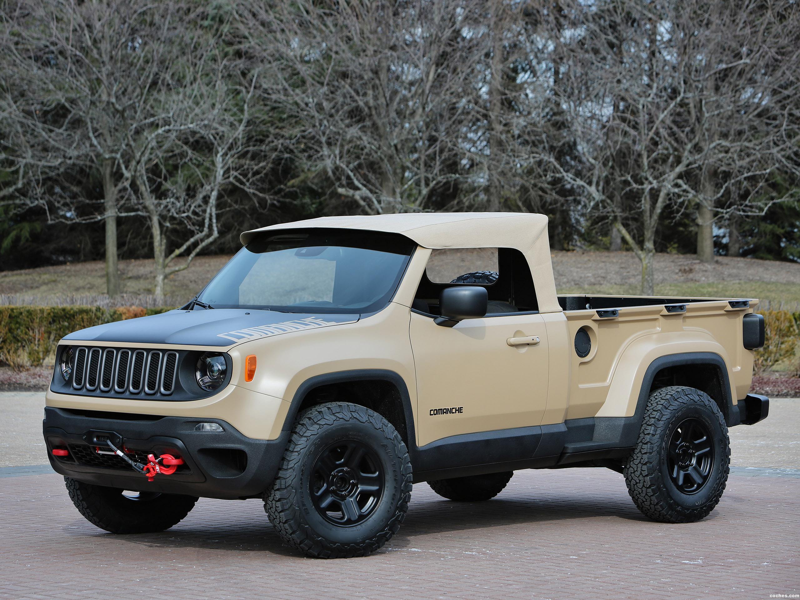 Foto 0 de Jeep Comanche Concept 2016