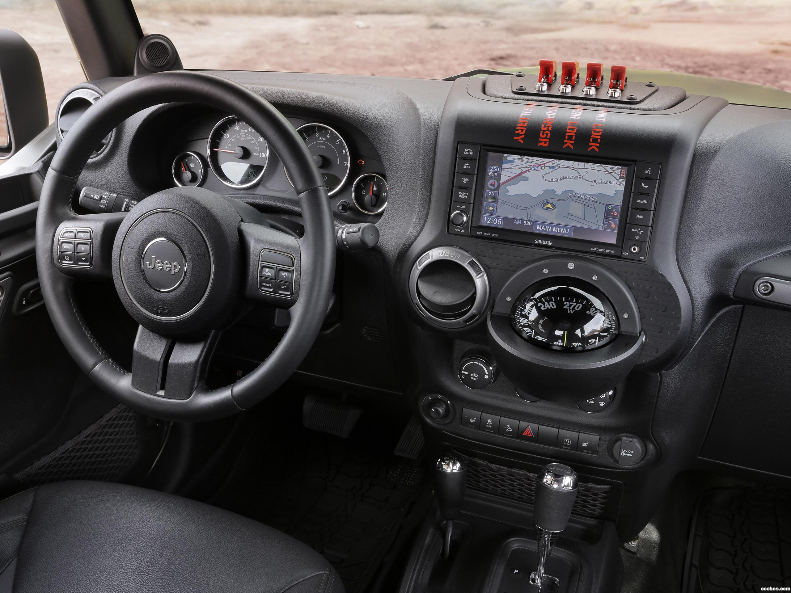 Foto 2 de Jeep Crew Chief 715 Concept 2016