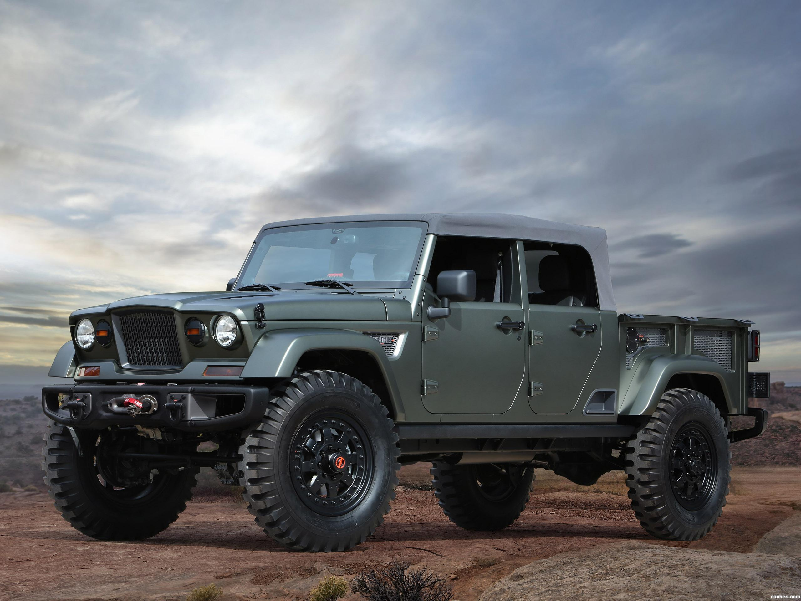 Foto 0 de Jeep Crew Chief 715 Concept 2016