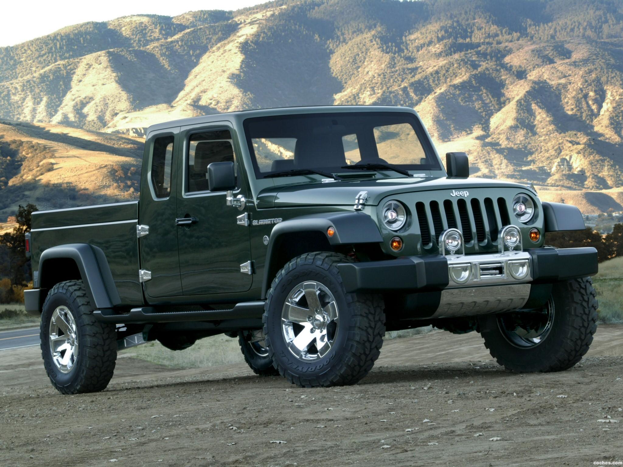 Foto 0 de Jeep Gladiator Concept 2006