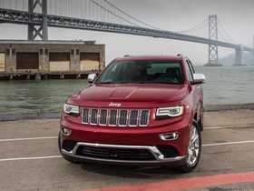 Ver foto 17 de Jeep Grand Cherokee 4x4 Eco Diesel Summit 2013