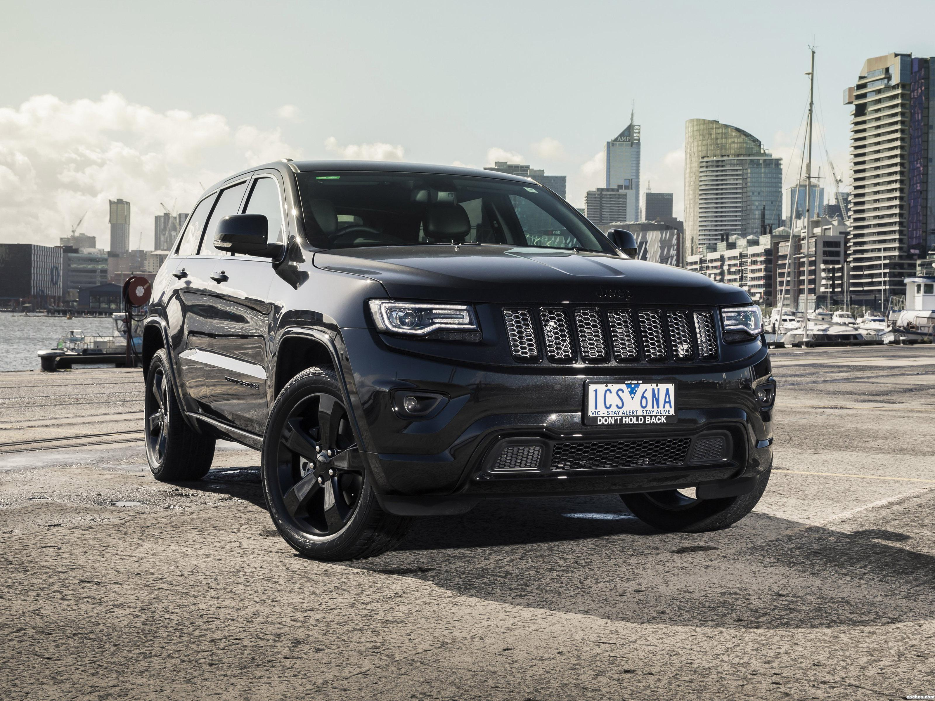 Foto 0 de Jeep Grand Cherokee Blackhawk 2015