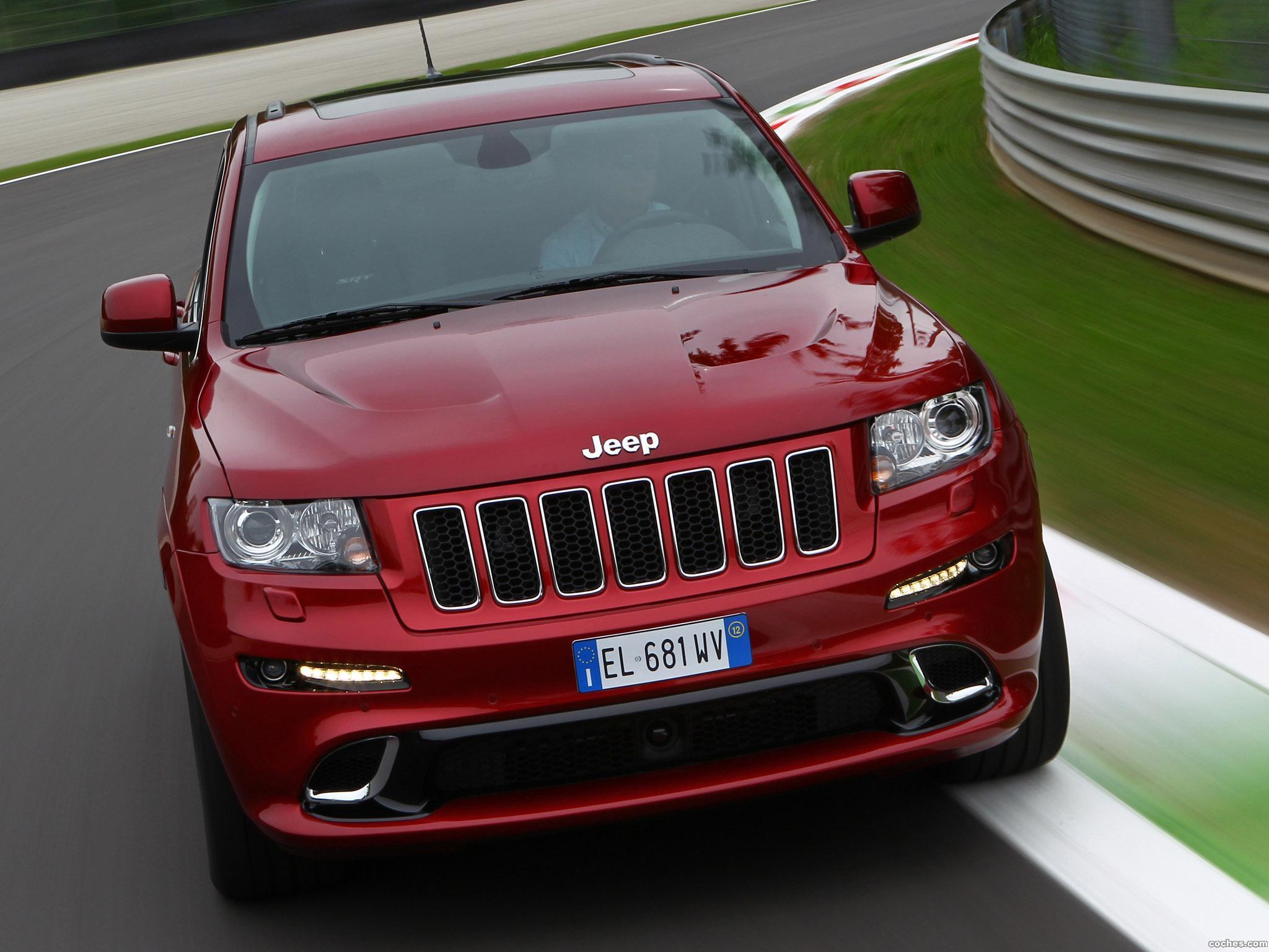 Foto 12 de Jeep Grand Cherokee SRT8 Europe 2012
