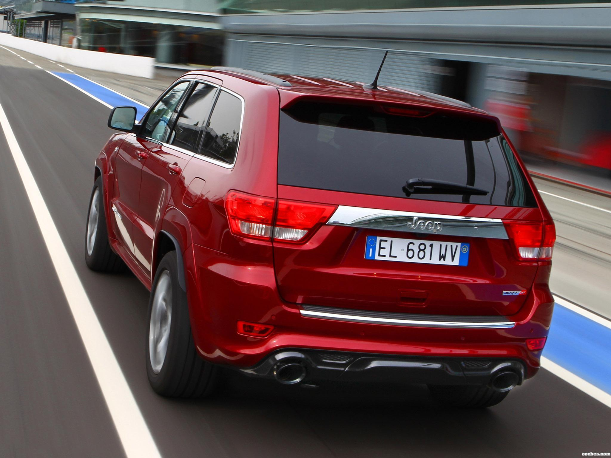 Foto 9 de Jeep Grand Cherokee SRT8 Europe 2012