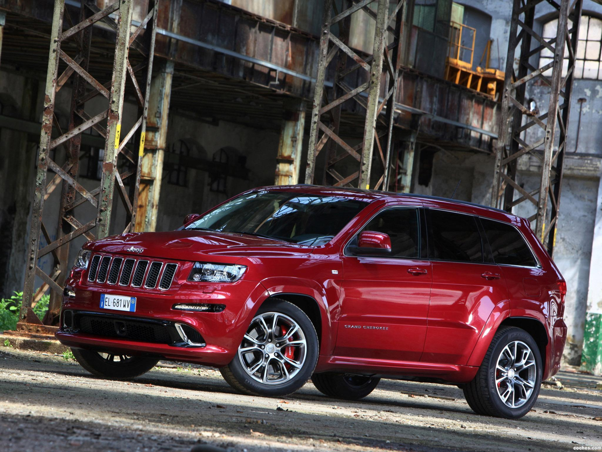 Foto 2 de Jeep Grand Cherokee SRT8 Europe 2012
