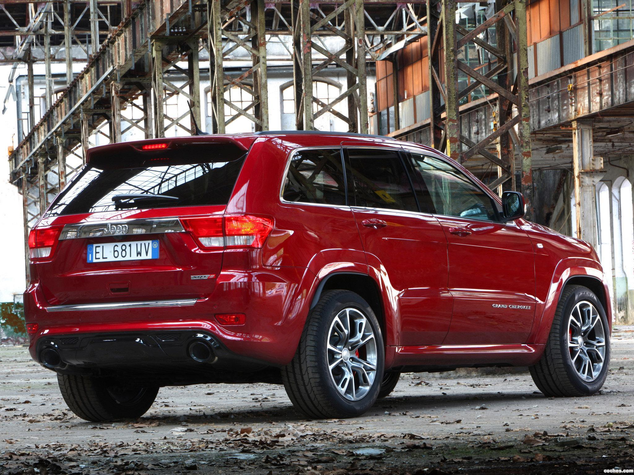 Foto 1 de Jeep Grand Cherokee SRT8 Europe 2012