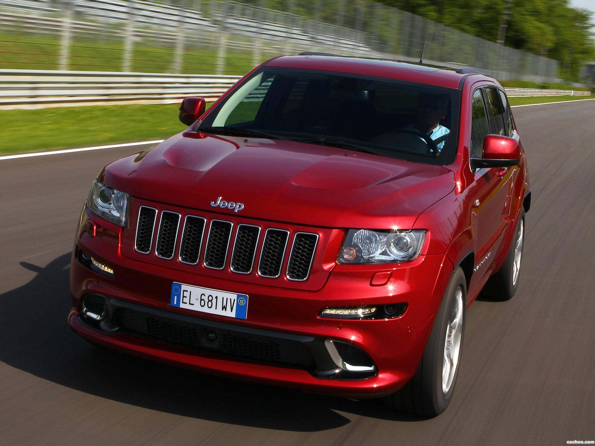 Foto 0 de Jeep Grand Cherokee SRT8 Europe 2012