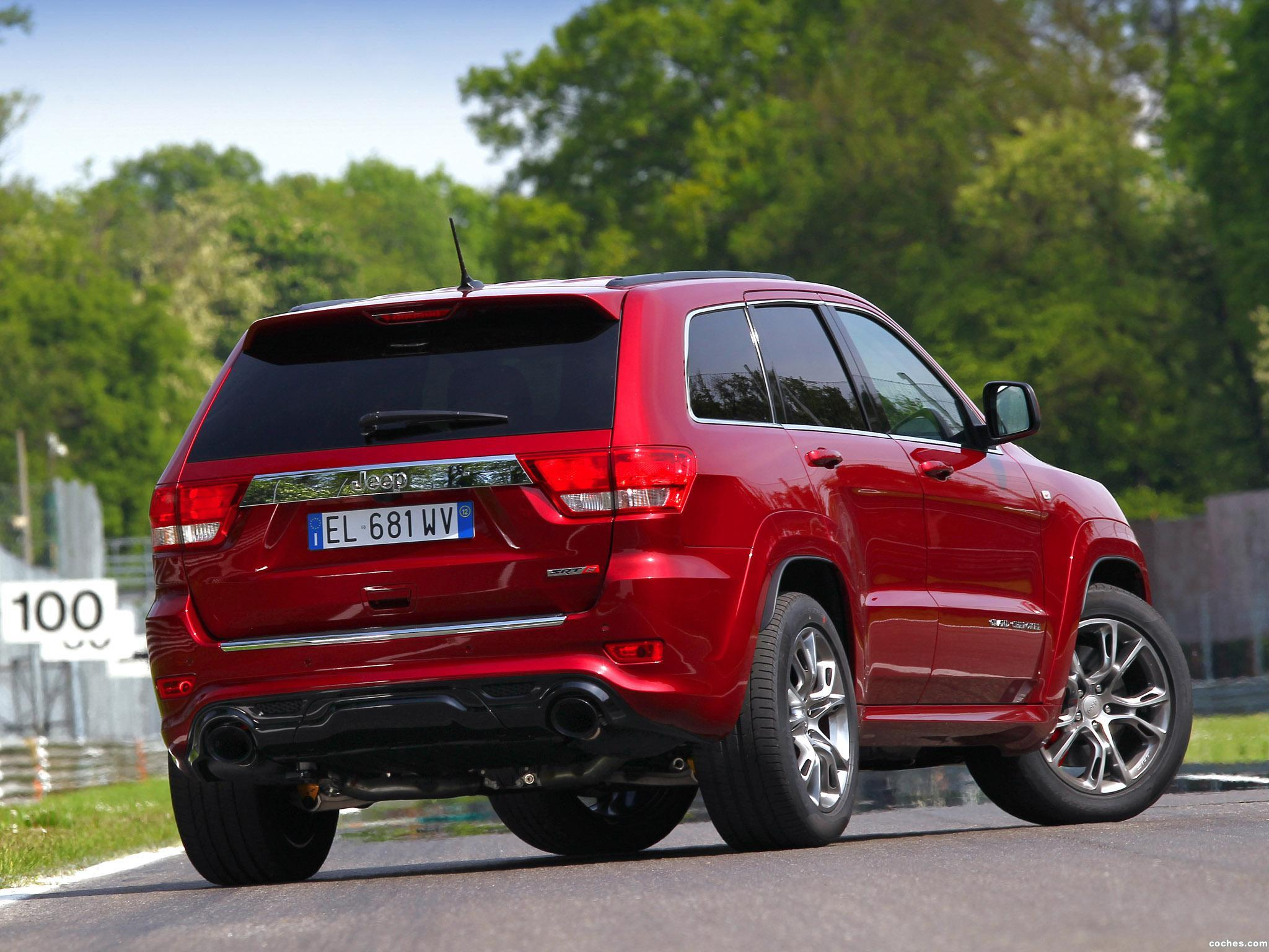 Foto 17 de Jeep Grand Cherokee SRT8 Europe 2012