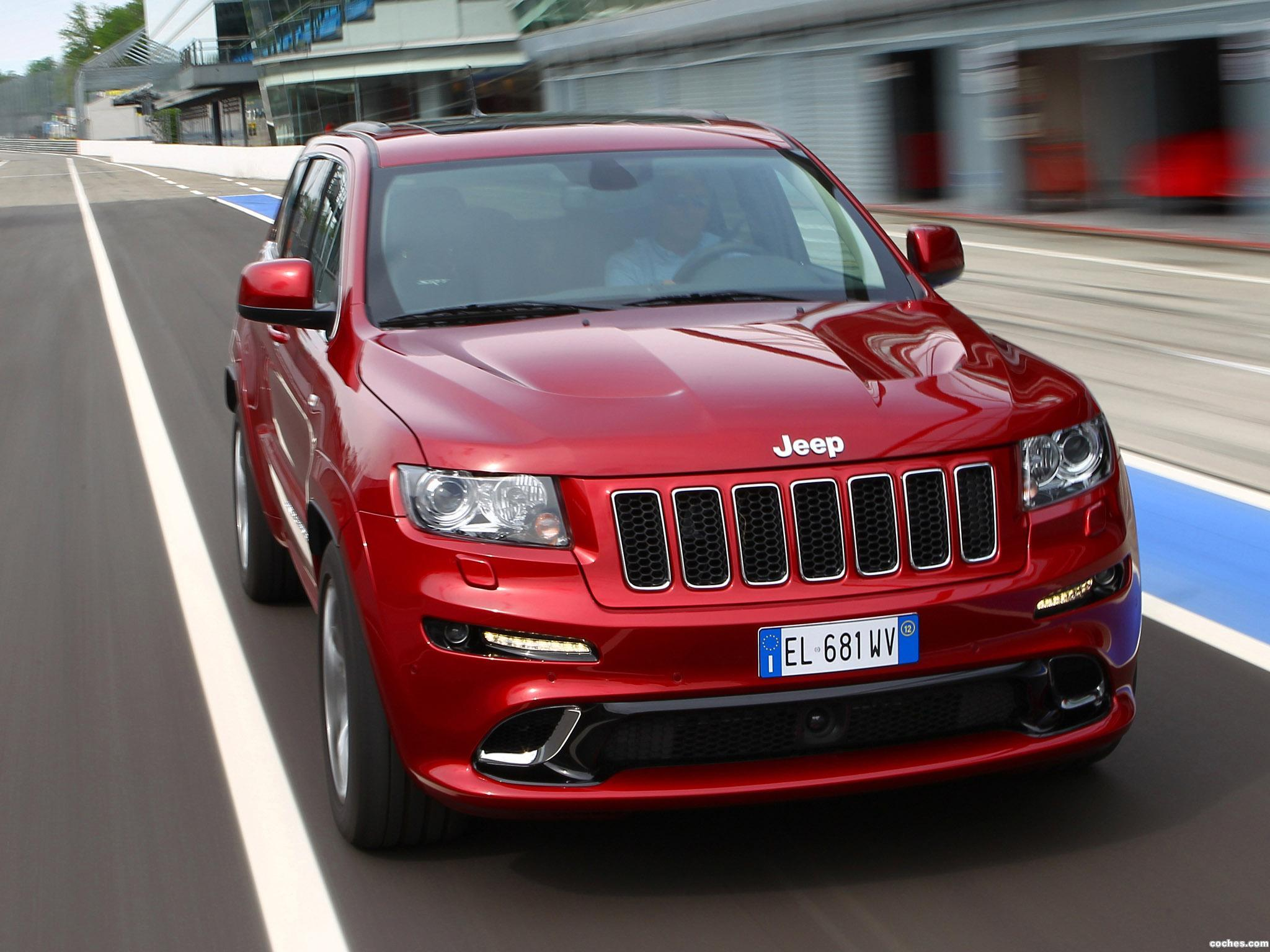 Foto 15 de Jeep Grand Cherokee SRT8 Europe 2012