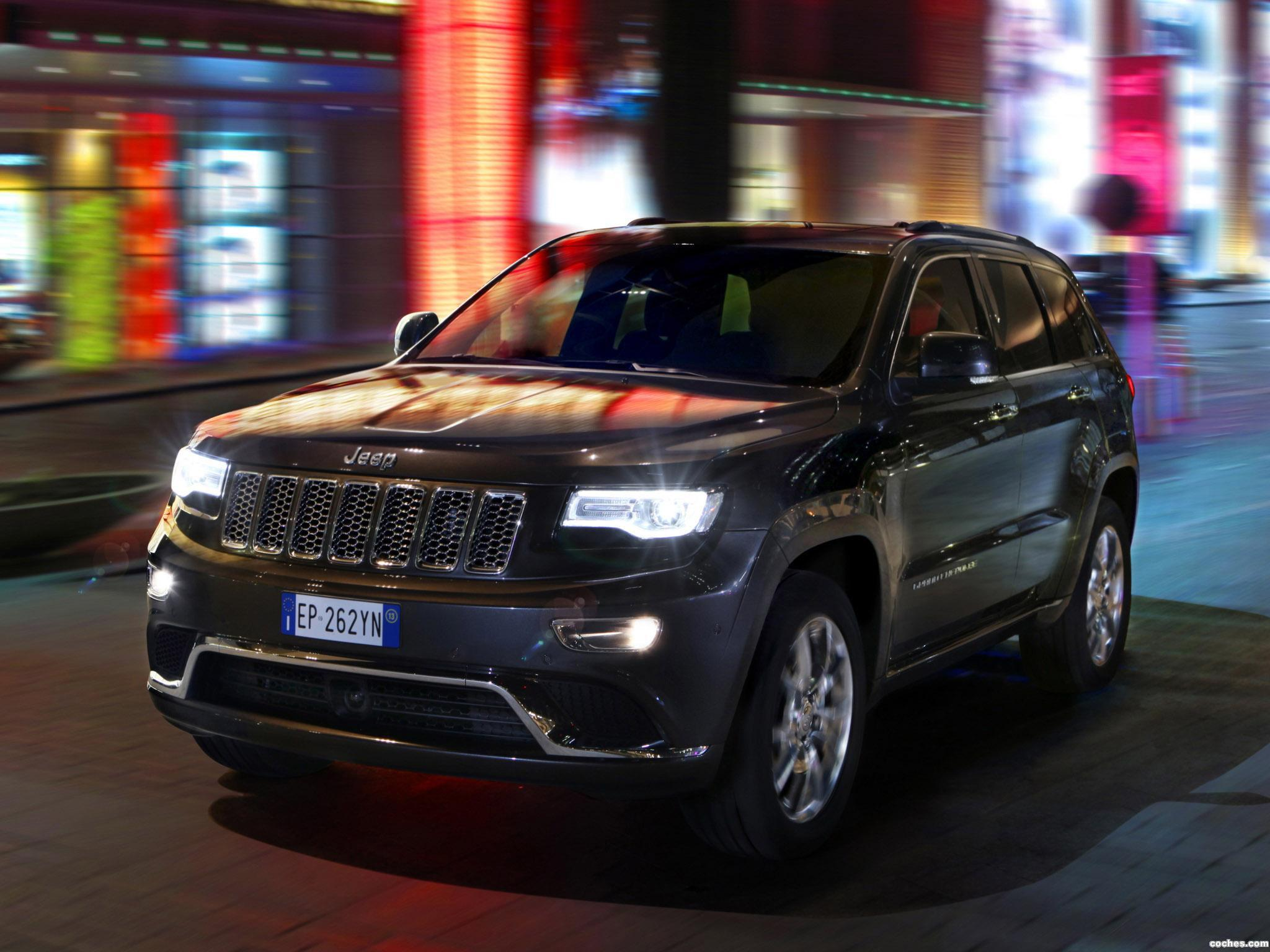 Foto 8 de Jeep Grand Cherokee Summit Europe 2013