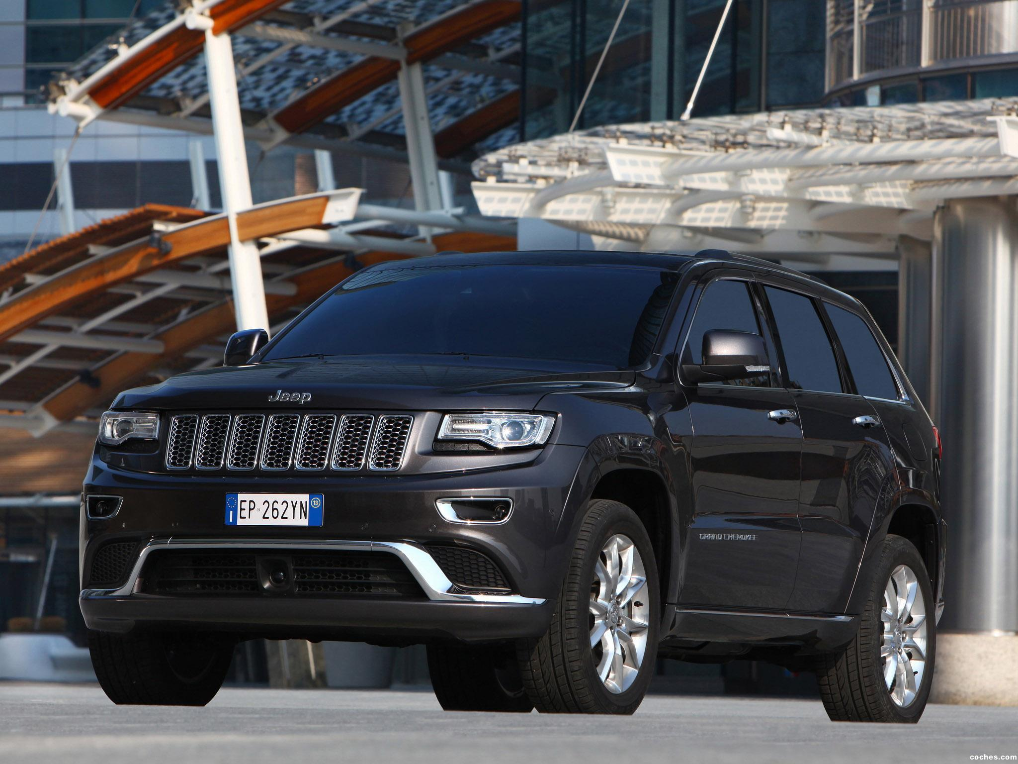 Foto 7 de Jeep Grand Cherokee Summit Europe 2013