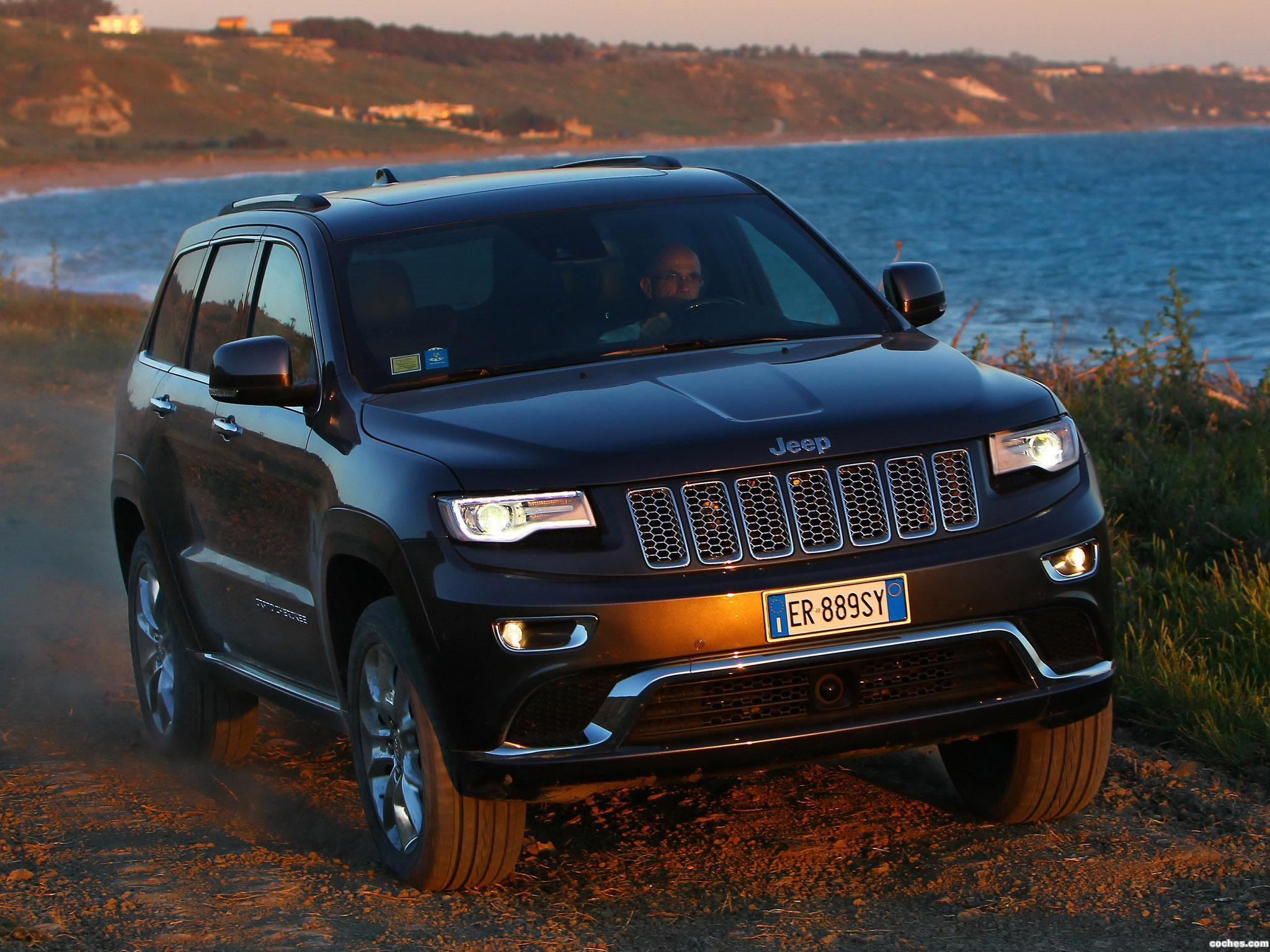 Foto 3 de Jeep Grand Cherokee Summit Europe 2013