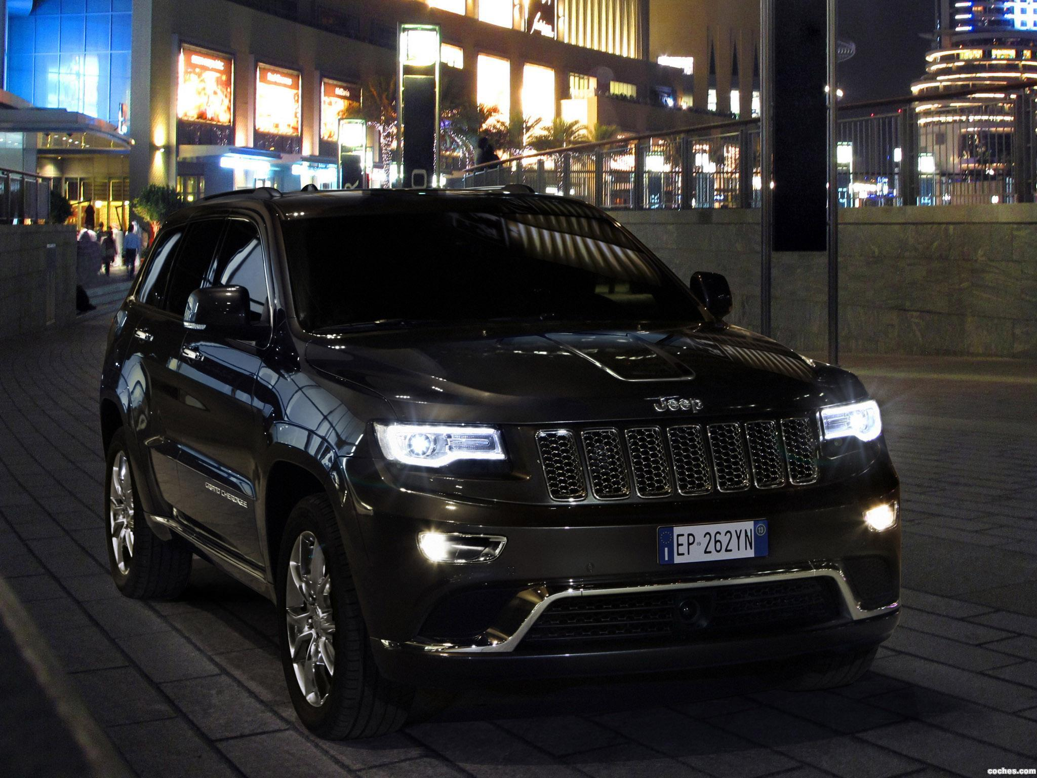 Foto 1 de Jeep Grand Cherokee Summit Europe 2013