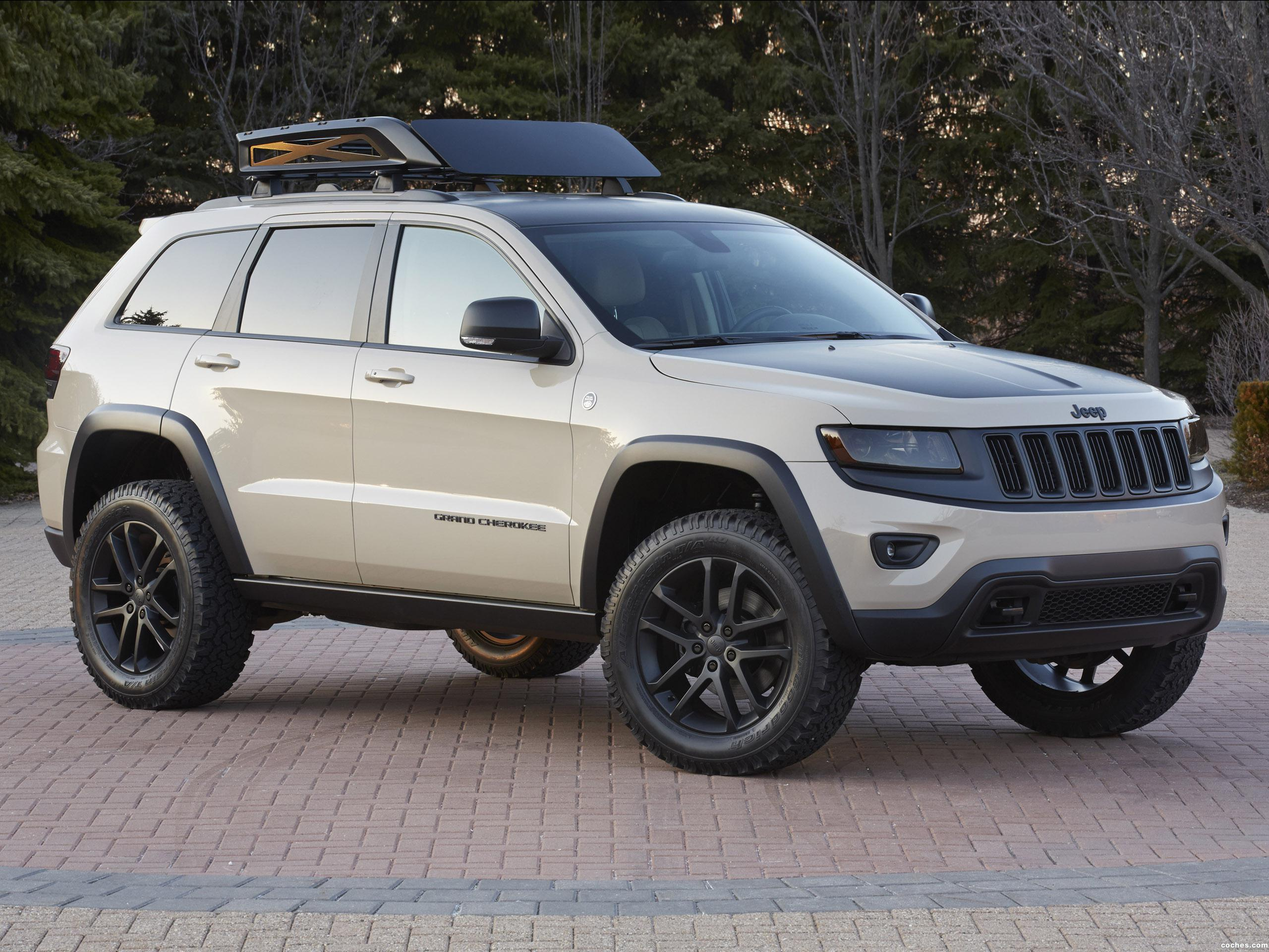 Foto 0 de Jeep Grand Cherokee Trail Warrior Concept 2014