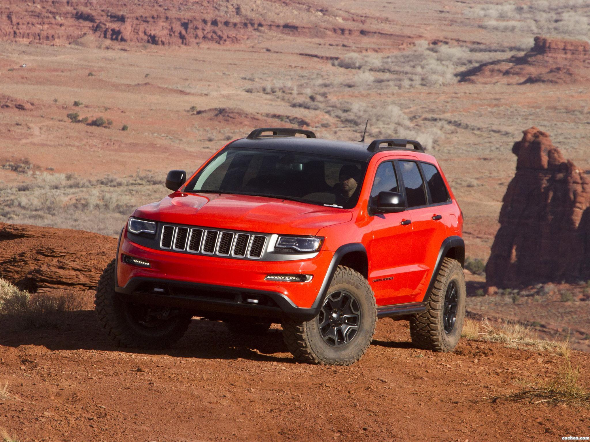 Foto 0 de Jeep Grand Cherokee Trailhawk II Concept 2013