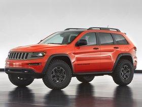 Ver foto 8 de Jeep Grand Cherokee Trailhawk II Concept 2013