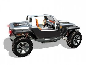 Ver foto 5 de Jeep Hurricane Concept 2005