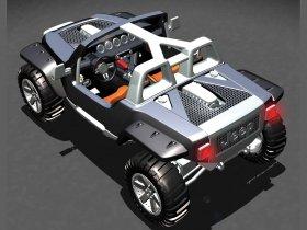Ver foto 2 de Jeep Hurricane Concept 2005