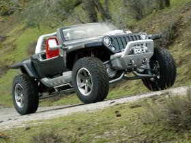 Ver foto 14 de Jeep Hurricane Concept 2005