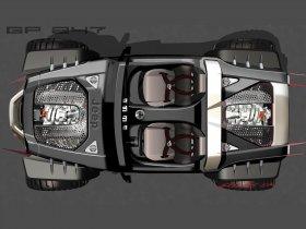 Ver foto 12 de Jeep Hurricane Concept 2005