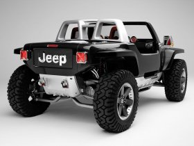 Ver foto 10 de Jeep Hurricane Concept 2005