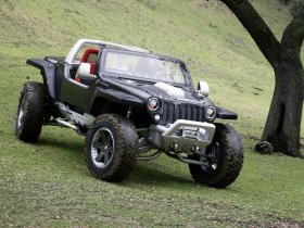 Ver foto 8 de Jeep Hurricane Concept 2005