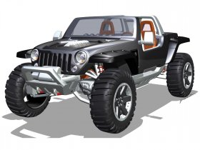 Ver foto 7 de Jeep Hurricane Concept 2005